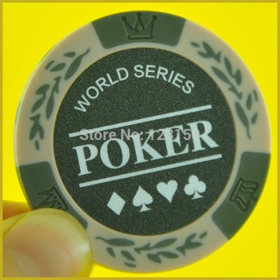 PN-8001M World Poker, no face value, 50pcs/lot, Clay 14g each, Free shipping