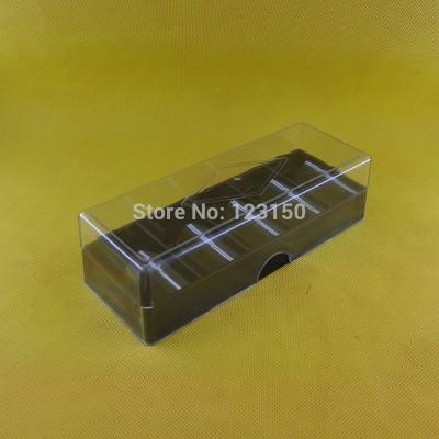 TA-016C Full Casino Sized Acrylic Plastic Poker Chip Tray Holder + Lid Cover